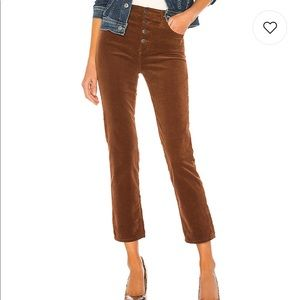AG Adriano Goldschmied Brown Corduroy Pants 23